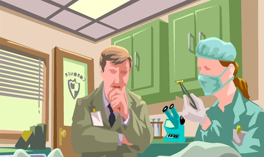 پزشکی قانونی و وظایف آن